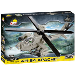 Cobi 5808 Armed Forces AH-64 Apache 1:48 Model Helicopter 510pcs