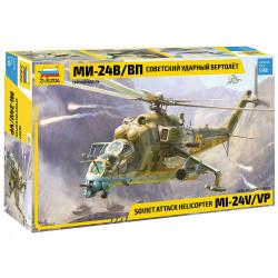 Zvezda 4823 Soviet Attack Helicopter MIL-Mi 24 V/VP 1:48 Plastic Model Kit