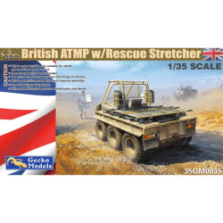 Gecko Models 35GM0035 British ATMP w/Rescue Stretchers 1:35 Plastic Model Kit