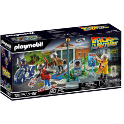 Playmobil 70634 Back to the Future Part II Hoverboard Chase