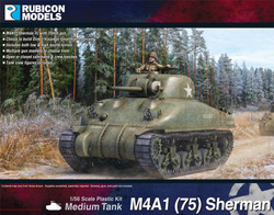 Rubicon Models 280086 M4A1 (75) Sherman 1:56 Plastic Model Kit