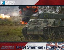 Rubicon Models 280088 M4A4 Sherman / Firefly VC 1:56 Plastic Model Kit