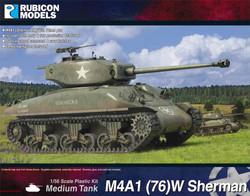 Rubicon Models 280087 M4A1 (76) W Sherman 1:56 Plastic Model Kit