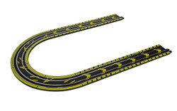 Micro Scalextric G8045 Micro Scalextric Track Extension Pack - Straights & Curves