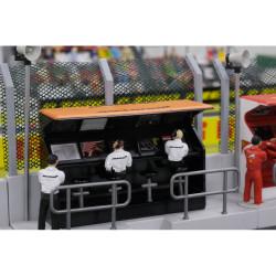 Slot Track Scenics TS/Dec 9 Timing Stand Decals McLaren Honda - for Scalextric