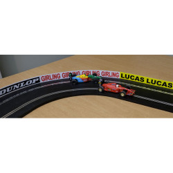 Slot Track Scenics C-AB4 P Classic Advert Boards Plastic Track - for Scalextric