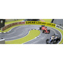 Slot Track Scenics C-AB4 W Classic Advert Boards Wood Track - for Scalextric