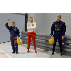 Slot Track Scenics Fig.19 Drivers Pack A - for Scalextric