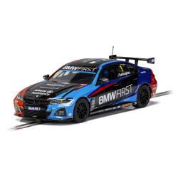 Scalextric Digital Slot Car C4225 BMW 330i M-Sport BTCC 2020 - Colin Turkington