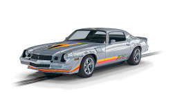Scalextric Digital Slot Car C4227 Chevrolet Camaro Z28 - Silver