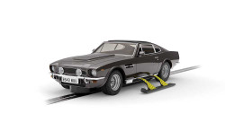 Scalextric Digital Slot Car C4239 James Bond Aston Martin V8 Living Daylights