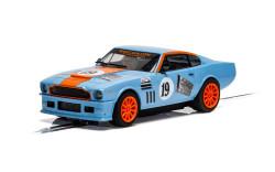 Scalextric Digital Slot Car C4209 Aston Martin V8 - Gulf Edition