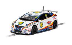 Scalextric Digital Slot Car C4210 Honda Civic Type-R NGTC - Jake Hill 2020