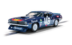 Scalextric Digital Slot Car C4219 Plymouth Barracuda - Trans Am 1970 Dan Gurney