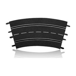 CARRERA Track Outer Curve 3/30 x6 20573