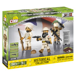 Cobi 2036 Historical Collection British Special Air Service 30pcs