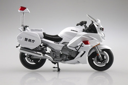 Aoshima 10678 Yamaha FJR1300 Police Motorcycle Diecast Model Bike