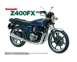 Aoshima 04151 Kawasaki Z400FX 1:12 Plastic Model Bike Kit