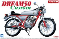 Aoshima 04507 Honda Dream 50 Custom 1:12 Plastic Model Bike Kit