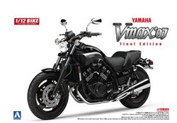 Aoshima 05165 Yamaha Vmax '07 1:12 Plastic Model Bike Kit