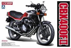 Aoshima 05167 Honda CBX400 FII 1:12 Plastic Model Bike Kit