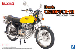 Aoshima 05224 Honda CB400 Four I/II (398cc) 1:12 Plastic Model Bike Kit