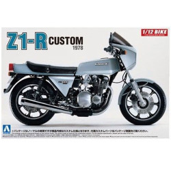 Aoshima 05399 Kawasaki Z1-R 1:12 Plastic Model Bike Kit