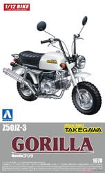 Aoshima 05870 Honda Gorilla Custom Takegawa Ver 1 1:12 Plastic Model Bike Kit