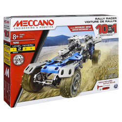 MECCANO 10 Model Set - Truck Rally Racer - Self Contained Motor 6040178