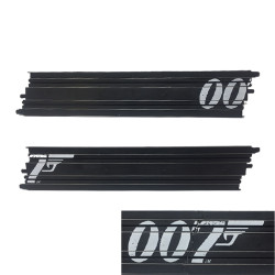 Micro Scalextric Track G101 - 382mm Straight Track - James Bond 007 - 2 Pieces