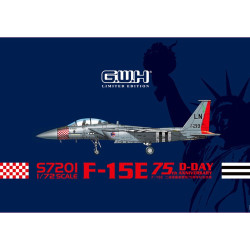 Great Wall Hobby S7201 F-15E 75th D-Day Anniversary 1:72 Plastic Model Kit