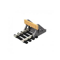 Proses PBF-OO-08 OO Scale Buffer Stop w/Real Wooden Plate (2 pcs) OO Gauge