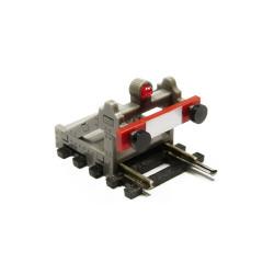 Proses PBF-HO-03 HO/OO Scale Buffer Stop w/Light (DCC Wireless) Grey OO Gauge