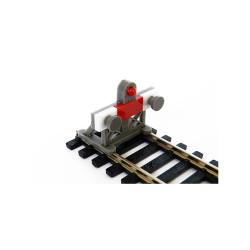 Proses PBF-HO-05 2x HO 1:87 Scale Laser-Cut Buffer Stop Kit w/Light OO Gauge