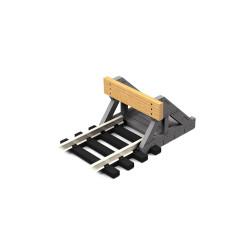Proses PBF-HO-08 HO Scale Buffer Stop w/Real Wooden Plate (2 pcs) OO Gauge