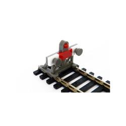 Proses PBF-OO-06 2x OO 1:76 Scale Laser-Cut Buffer Stop Kit w/Light OO Gauge