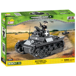 Cobi 2534 Historical Collection Panzer I Ausf.A Tank WWII Model 330pcs Age 6+