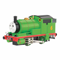 Bachmann Loco 58742BE Percy the Small Engine with Moving Eyes OO Scale