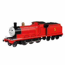 Bachmann Loco 58743BE James the Red Engine with Moving Eyes OO Scale