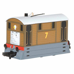 Bachmann Loco 58747BE Toby the Tram Engine with Moving Eyes OO Scale