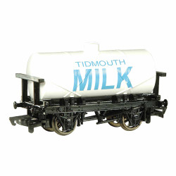 Bachmann Wagon 77048BE Tidmouth Milk Tank OO Scale Thomas & Friends
