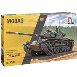 Italeri 6582 M60A-3 Tank 1:35 Plastic Model Tank Kit