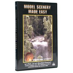 Woodland Scenics R973 Model Scenery Made Easy DVD Scenic Brush Foliage