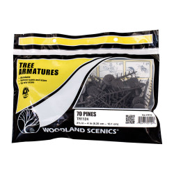 """Woodland Scenics TR1124 2½""""-4"""" Tree Armatures Landscaping Landscaping"""