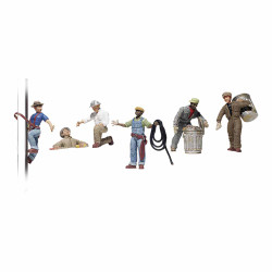 Woodland Scenics A1826 City Workers HO OO Gauge Figures Landscaping