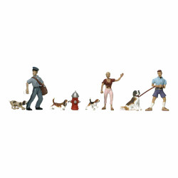 Woodland Scenics A1827 People And Pets HO OO Gauge Figures Landscaping