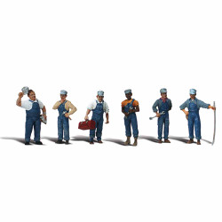 Woodland Scenics A1859 Train Mechanics HO OO Gauge Figures Landscaping