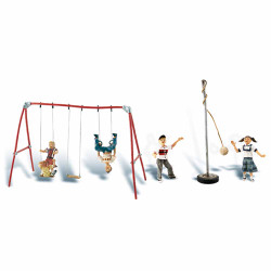 Woodland Scenics A1943 Playground Fun HO OO Gauge Figures Landscaping