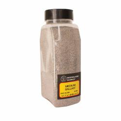 Woodland Scenics B1394 Grey Blend Medium Ballast Shaker Landscaping
