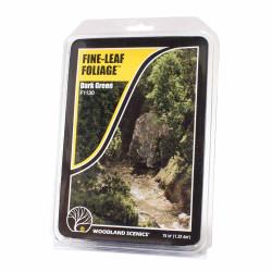 Woodland Scenics F1130 Dark Green Fine Leaf Foliage Scenic Brush Foliage Flock